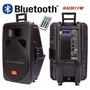 Bafle Potenciado Moon 15 Usb Sd Mp3 Bluetooth 2200pmpo C J F