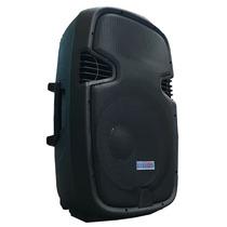 Bafle Amplificado! Woofer 15, 2 Vias 300w Rms Usb Potenciado