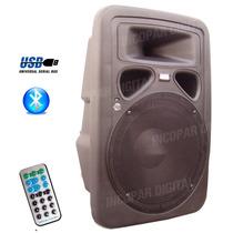 Bafle Potenciado C/usb-mic-sd-bluetooth 300w- Karaoke