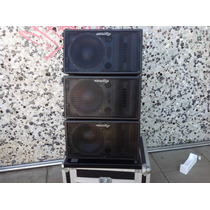 Sistema Line Array Block Curvo&eighteen,(10 O 12 Pulg. )