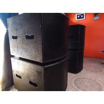 Sub Woofer Mod Rcf1ooo Caja Vacia (el Sonidero)