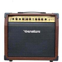 Amplificador Wenstone Ag-25 Acústica Eléctrica Teclado Voces
