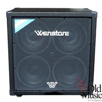 Caja Bafle Equipo De Bajo Wenstone B-410 320w Rms