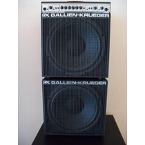 Gallien Krueger Mb150e + Extension Cab 112 Mbx Usa
