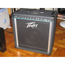 Amplificador Peavey Basic 60 P/bajo Electrico (made In Usa)