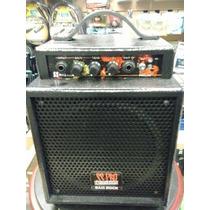 Amplificador Para Bajo Portatil A Bateria Ss Pro Bass Rock