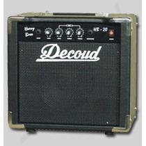 Amplificador Equipo Para Bajo Decoud 20w Hb-20