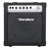 Amplificador De Bajo Wenstone Be200 20w Rms Parlante 10 2 In