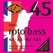 Rotosound Rb45 Encordado Para Bajo 4 Cuerdas 45 - 105
