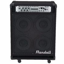Amplificador Combo Para Bajo Randall Rb200xe - 4x10 - 200w