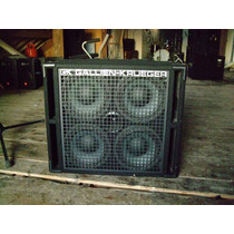 Caja Gallien Krueger 410rbh 8 Ohms Made In Usa