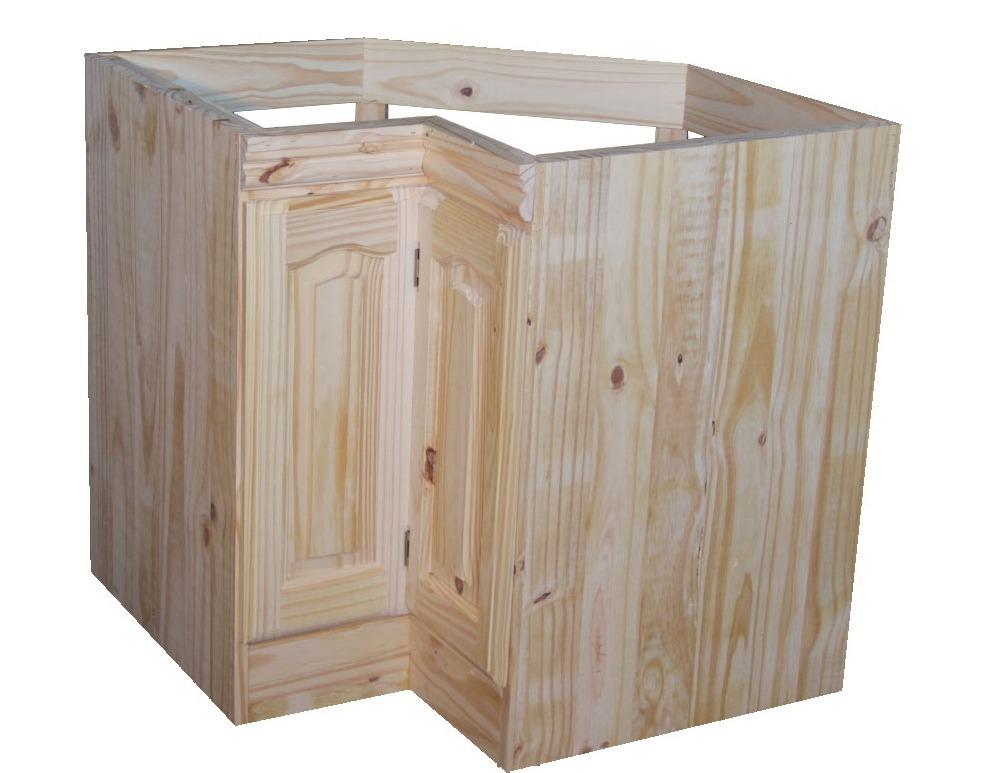Muebles de cocina esquineros muebles clasicos cocinas for Muebles pino valencia