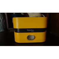 Balanza De Cocina Terraillon Francia Vintage Amarilla