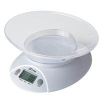 Balanza Electrónica De Cocina C/ Recipiente Silfab Máx 3 Kg