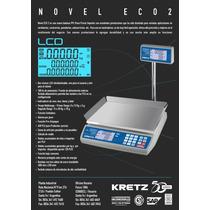 Balanza Kretz Con Impresor De Etiquetas Autoadhesivas