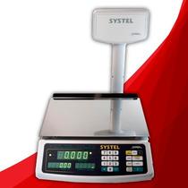 Balanza Systel Croma 31 Kg A Bat Zona Sur 18 Meses Garantia