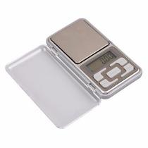 Mini Balanza Digital 0.1 A 500 Grs Visor Lcd C/luz Pila Incl