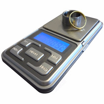 Balanza Digital De Precisión 0.1g A 500g Con Display Y Pilas