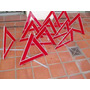 Balizas Triangulares En Buen Estado