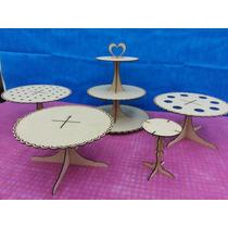Porta Cupcake+bandeja Torta+porta Paraguitas+porta Cucurucho