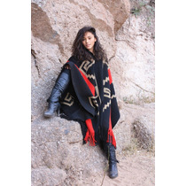 Poncho Guarda Atada Inca Familia Avar Saracho
