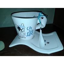 Ste Desayunador Taza Con Plato Mas Cucharita De Regalo