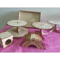 Combo Candy Bar 6 Productos Mdf Fibrofacil Somos Fabrica !!