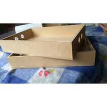 Bandejas De Fibrofacil 30x20x5 Cm (pack Por 10)