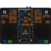 Controlador Consola Dj 2 Canales Behringer Cmd Studio 2a