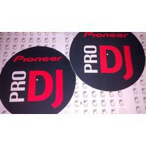 Slipmat Paño Para Bandeja Giradiscos Pioneer Pro Dj