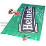 Espectacular Bandera Heineken * Cartel Publicidad Negocio