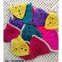 Decora Tu Local! Banderines Coloridos Al Crochet