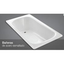 Bañeras 1,50 Acero Esmaltado!!! Color Blanco - Oferta!!!