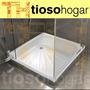 Receptaculo Ducha 70 Acero Esmaltado Plato Loza Box No Fv