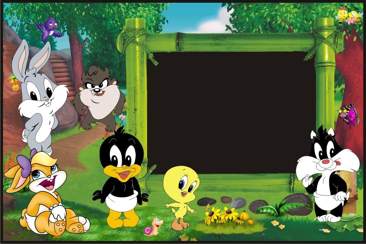 Banner Infantiles-baby Looney Tunes-murales-cumpleaños - $ 350,00 ...