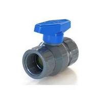 Llave De Paso Valvula Esferica Duke Pvc Plastica 3/4 Hh X10u