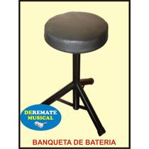 Banqueta Para Bateria - Oferta Especial -