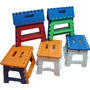Banco Plastico Infantil Plegable Grande Camping Regalos Aka