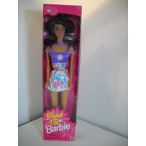 Barbie Castaña Brunette Flower Fun 1996 Primavera Mp Narey