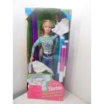 Barbie Tie Dye Tiñe Y Diseña 1998 Batik Accesorios Envios Mp