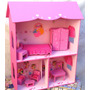 Casita Muñecas Barbie Pintada, Decorada Las Casitas De Lala
