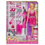 Barbie Original Con 6 Pares De Zapatos.nueva Mattel.