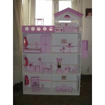 Casita Barbie Xxl 1,50 M! C/ascensor, Piscina Luz! Promo !!!