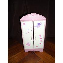 Ropero Pequeño Para Barbies - Casa De Muñecas