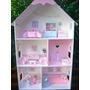 Casita /casa De Muñecas Barbie Con 23 Accesorios!!