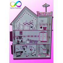 Casa De Muñeca Barbie Gigante!!!! Con Ascensor, Hermosa!!!!