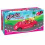 Gloria El Convertible Auto Para Muñecas Con Luz!