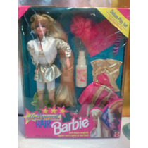 Barbie Hollywood Hair Deluxe Set Mas Set De Repuestos