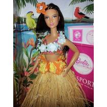 Muñeca Barbie Collector Passport Hawaii