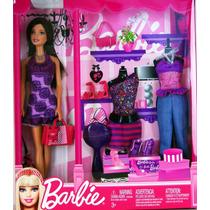 Barbie Fashion And Gift Set Doll Nuevas En Caja Cerrada